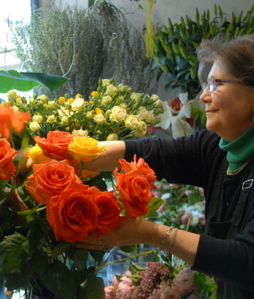 Negozio di fiori, semi e bouquet a Firenze